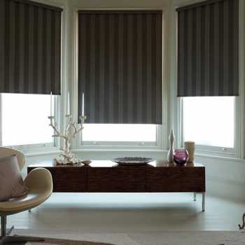stripes blackout blinds
