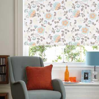 light patterned roller blinds