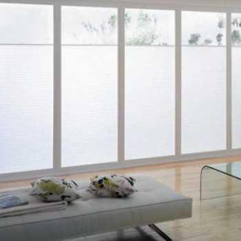Bifolding door blinds